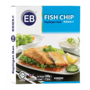 Fish chip finger food