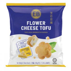 flower cheese tofu