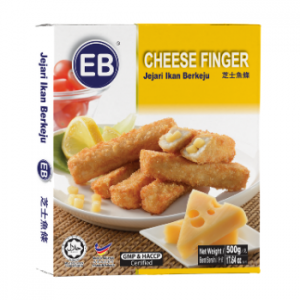 Delicious cheese finger food