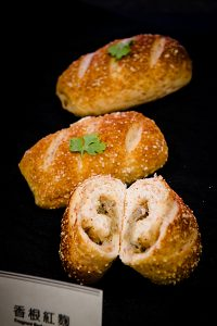 Healthy fragrant red yeast bread