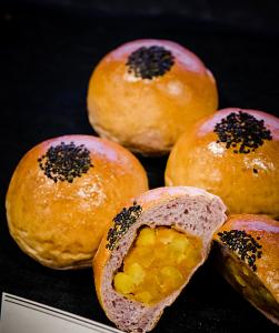Real sweet potato bread