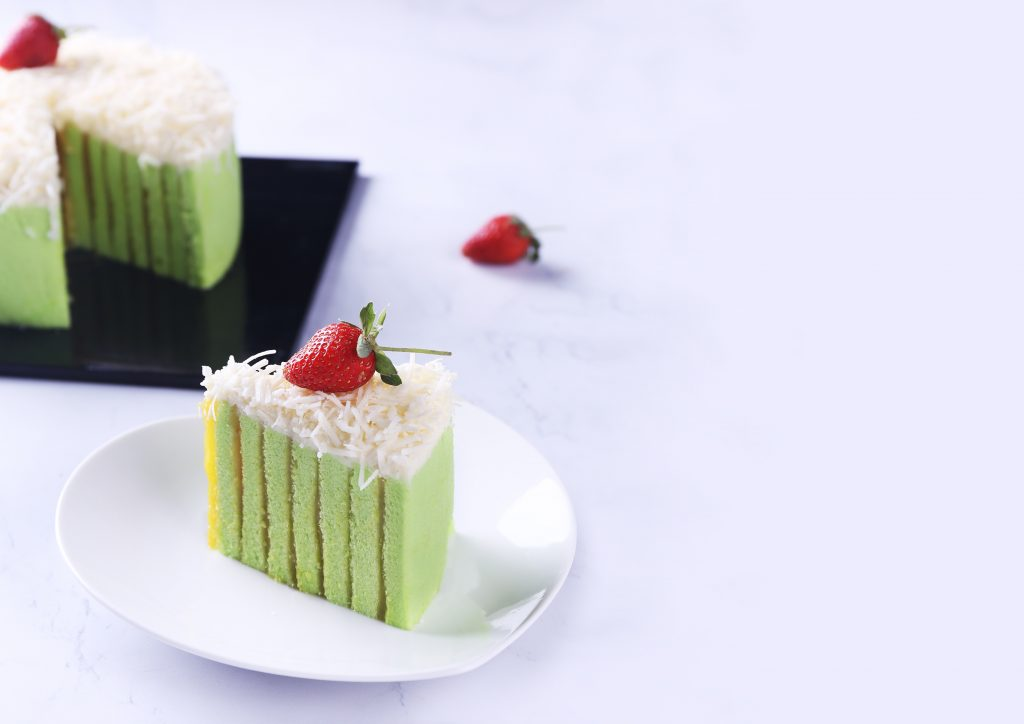 Bake cheese cake with silky cake mix